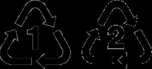 plastic numbers icon