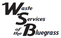 Waste Services of the Bluegrass Retina Logo
