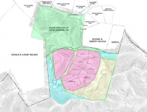 Map of Landfill Expansion